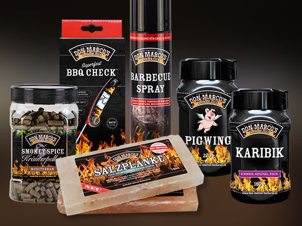 Don Marco´s Barbecue Produkte