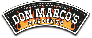 Don Marcos Barbecue Logo