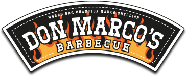 Don Marcos Barbecue Retina Logo