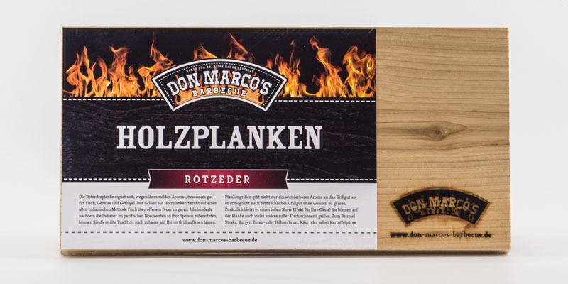 Don Marco S Woodplanks Red Cedar Don Marcos Barbecue
