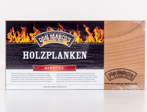 Don Marco's Holzplanke Kirsche