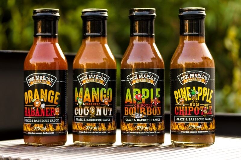 Mango Habanero Barbecue Sauce Recipe — Dishmaps