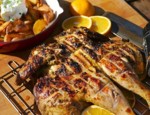 Jamaican Jerk Orange Chicken