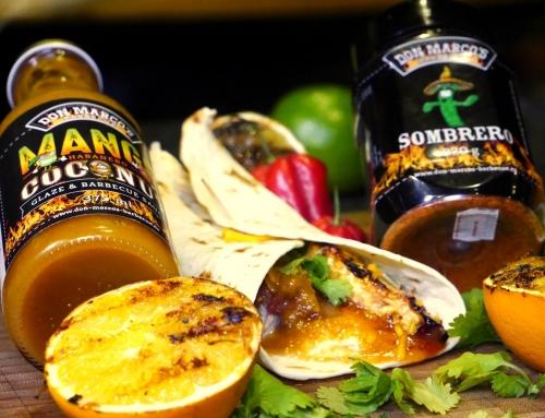 Tortillas al Pastor -Mexicanischer Spieß