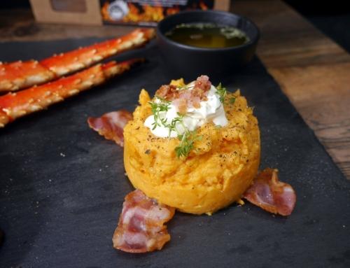 Chipotle-Bacon Süßkartoffelpüree