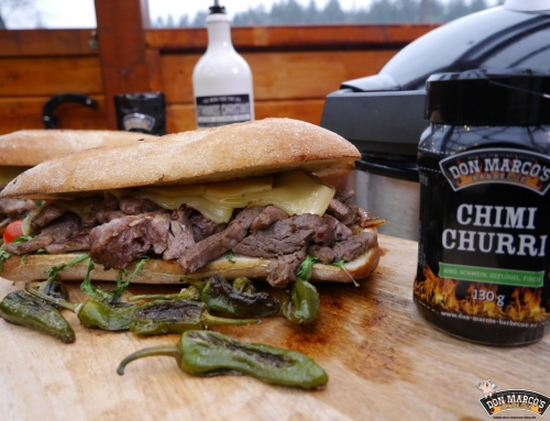 Chimichurri Cheese Steak Sandwich