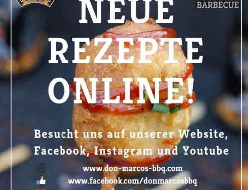 Neue Rezepte und Videos online!