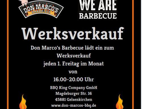 Don Marco's Barbecue Werksverkauf in Gelsenkirchen