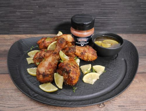 Honey Lemon Chicken Drumsticks