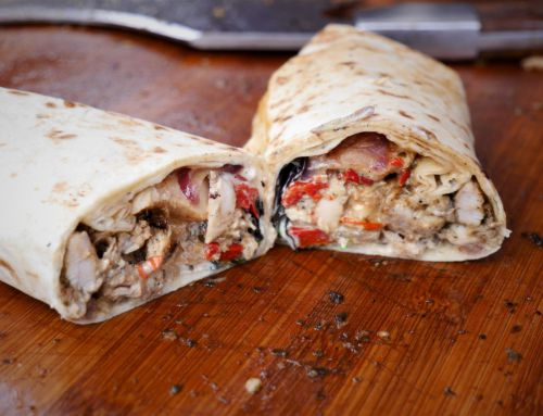 Jamaican Jerk Chicken Wraps 2.0