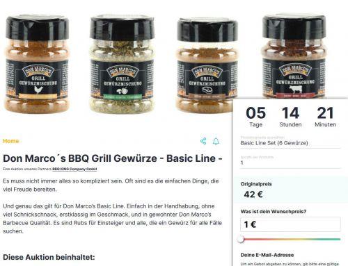 Don Marco's Basic Line bei Auctopus.de