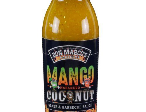 Mango Habanero Coconut Glaze & BBQ Sauce