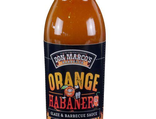 Orange Habanero Glaze & Barbecue Sauce